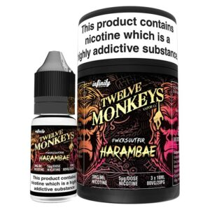 Twelve Monkeys Harambae E‑liquid (3x10ml.)