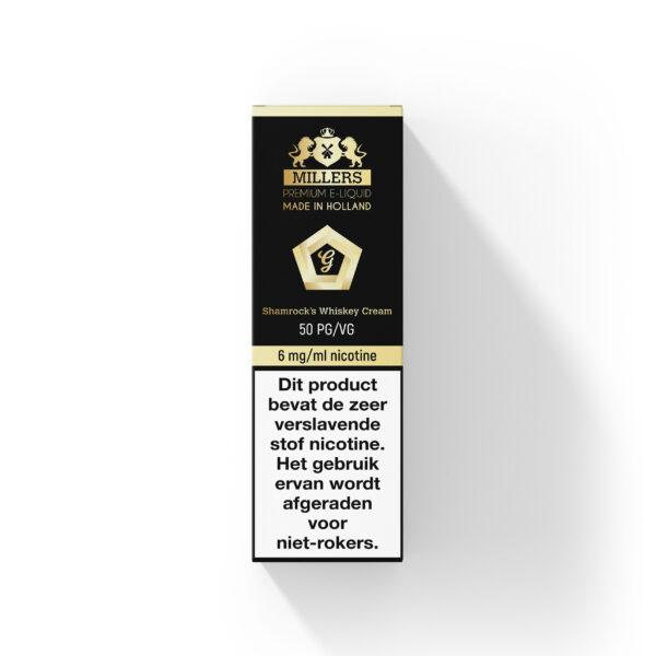 Millers Shamrock's Whiskey Cream e-liquid 10ml