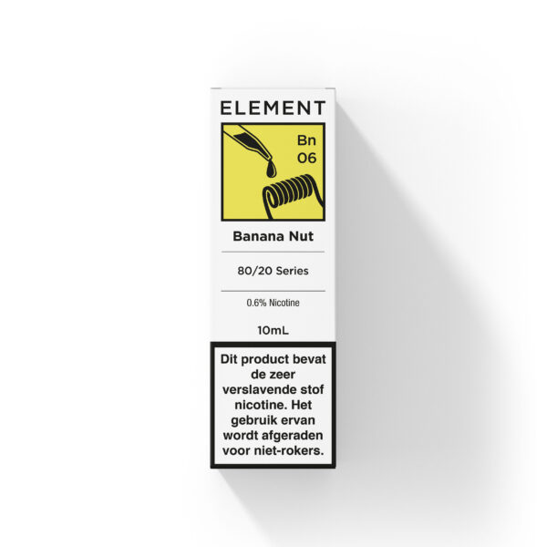 Element Banana Nut e-liquid