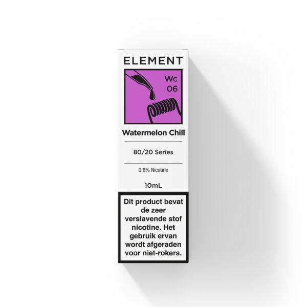 Element Watermelon Chill e-liquid