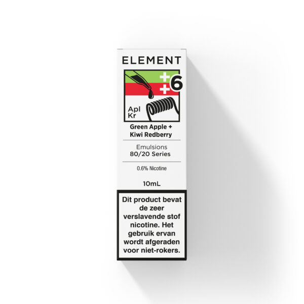 Element Green Apple + Kiwi Red Berry e-liquid 10ml