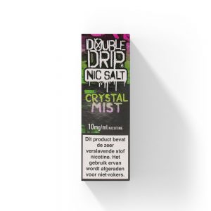 Double Drip Crystal Mist NS Nic salt e-liquid