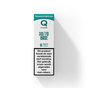Qpharm nicotine booster 30PG 70VG