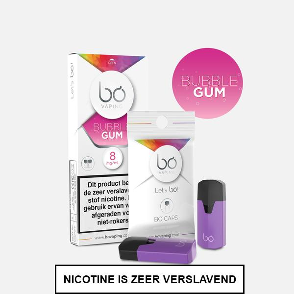 BO Caps Bubble Gum