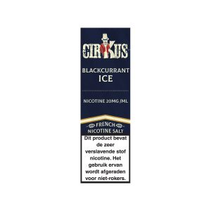Cirkus Blackcurrant ice nic salt e-liquid