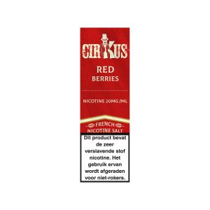 Cirkus red berries nic salt e-liquid