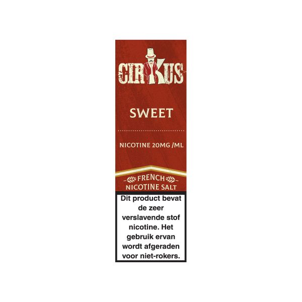 Cirkus sweet nic salt e-liquid