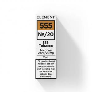 Element 555 Tobacco NS20 E-liquid