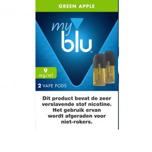 Blu Pods Green Apple