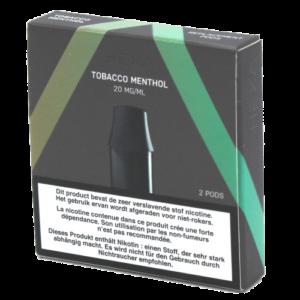 Hexa POD Tobacco Menthol 2x