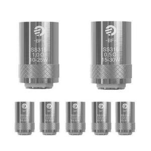 Joyetech AIO / CUBIS / eGrip 2 coils BF (SS) 5stuks