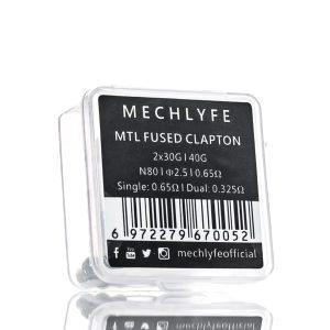Mechlyfe Prebuilt Fused Clapton Coil 6stuks