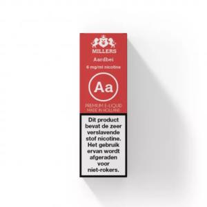 Millers Aardbei E-liquid