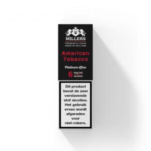 Millers Juice Platinumline – American Tobacco