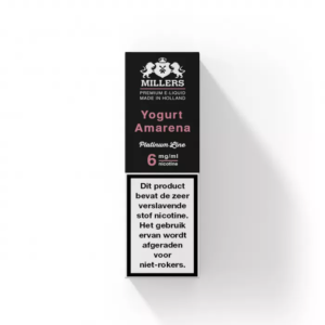 Millers Juice Platinumline – Yogurt Amarena