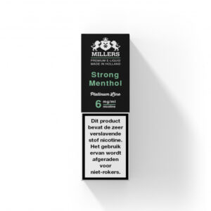 Millers Juice Platinumline – Strong Menthol