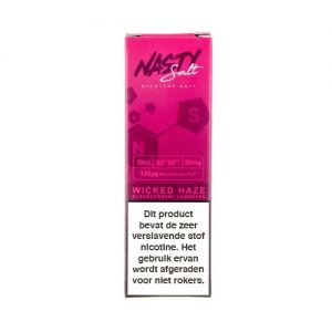 Nasty Juice Wicked Haze Nic Salt 10ml