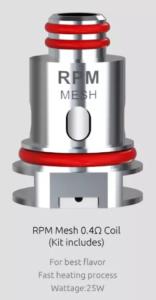 Smok RPM40 mesh 0.4 ohm coil