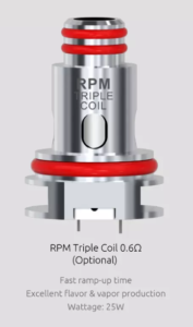 Smok RPM40 coil 0.6 ohm tripple coil