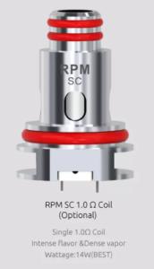 RPM40 coil 1.0 ohm SC