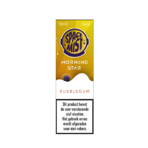 Space Mist Morning Star Bubblegum e-liquid 10ml