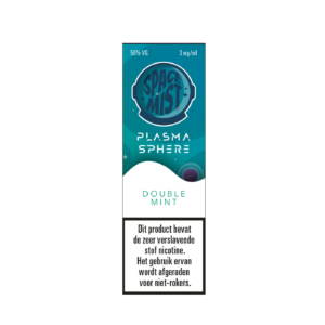 Space Mist plasma Sphere Double Mint e-liquid 10ml