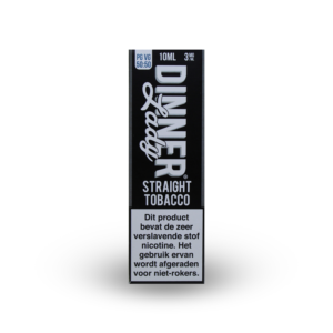 Dinner Lady Straight Tobacco 10ml e-liquid