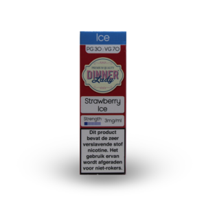 Dinner Lady Strawberry Ice e-liquid