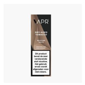 Vapr Nic Salt E-Liquid – Dry Aged Tobacco