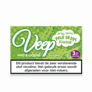 Veep Pear Drops 5x10ml