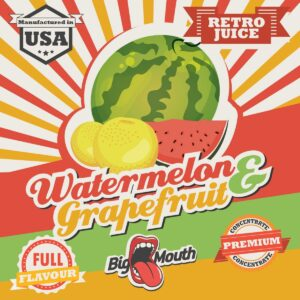 Big Mouth Watermelon & Grapefruit Aroma 10ml