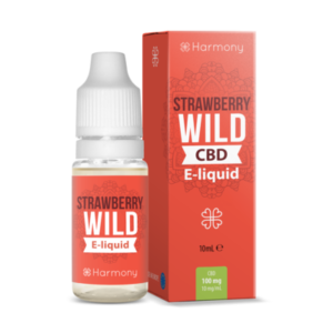 Harmony CBD e-liquid Aardbei 30mg 10ml