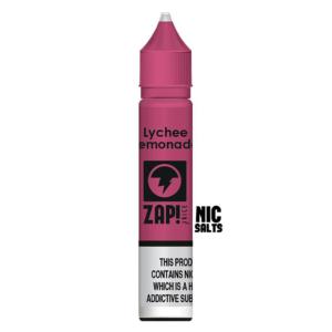 Zap! Lychee Lemonade Nic Salt