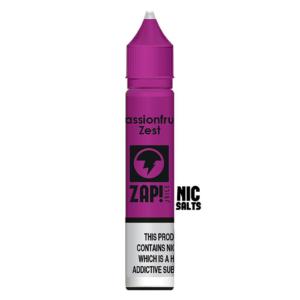 Zap! Passionfruit Zest nic salt