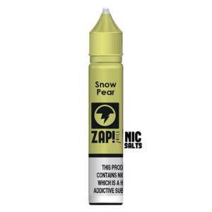 Zap! Snow Pear Nic Salt