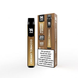 N One Creamy Tobacco Disposable