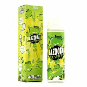 Bazooka Apple Sour Straws ICE – 50ml