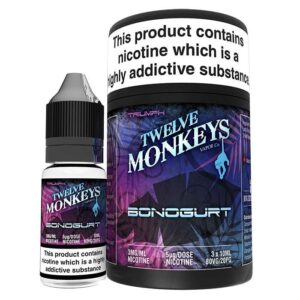 Twelve Monkeys Bonogurt E‑liquid (3x10ml.)