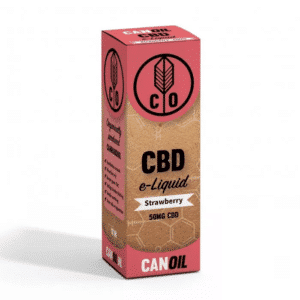 Canoil CBD E-liquid Strawberry 100MG CBD