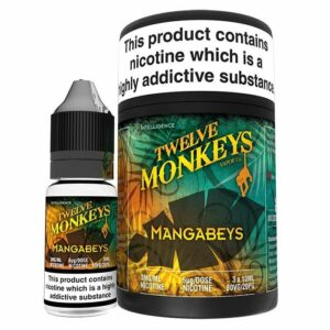 Twelve Monkeys Mangabeys E‑liquid (3x10ml.)