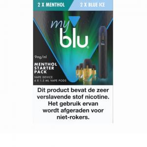 Blu Menthol Startset