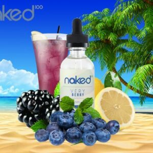 Naked 100 Very Berry – 50ml