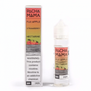 Pacha Mama Fuji Apple, Strawberry, Nectarine – 50ml