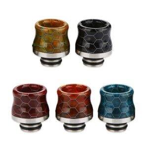 Snakeskin Resin Drip Tip 510 of 810 aansluiting