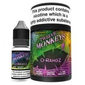 Twelve Monkeys O-RangZ E‑liquid (3x10ml.)