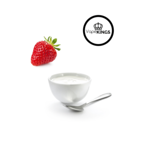 VAPEKINGS Strawberry Yoghurt E-LIQUID 10ML